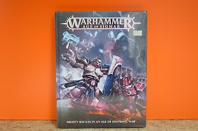 Games Workshop - WARHAMMER AGE OF SIGMAR BOOK • 40£