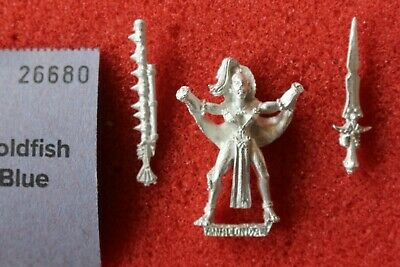 Games Workshop Warhammer Mordheim Amazons Champion Complete  Amazon Metal OOP GW • 29.99£