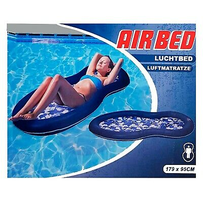 XQ Max Mesh Inflatable Lilo Lounger Chair Float Beach Swimming Pool Aid Air Bed  • 12.99£