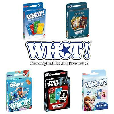 WHOT! Waddingtons Fast-Moving Card Game - Brand New Direct From The Manufacturer • 4.99£