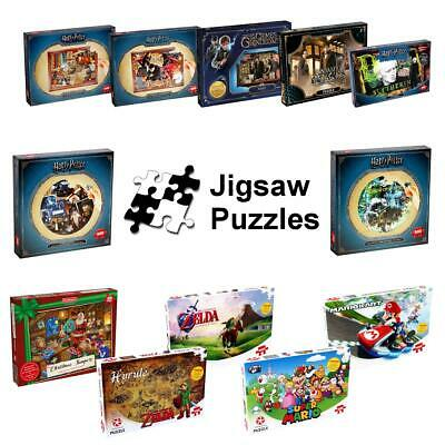 Waddingtons Jigsaw Puzzles Brand New > Harry Potter > Christmas > Mario > Zelda • 9.99£