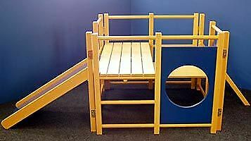 Indoor Wooden Climbing Frame • 550£