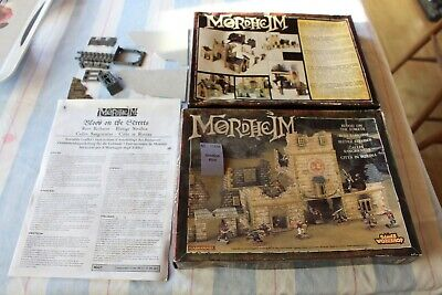 Mordheim Blood On The Streets INCOMPLETE Box Instructions Games Workshop OOP GW • 24.99£