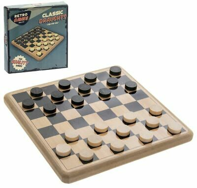 Vintage Style Retro Ridleys Family Classic Draughts Checkers Set Game New Boxed  • 7.95£