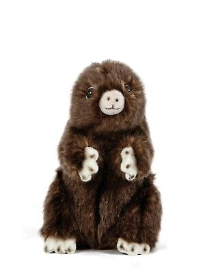 New Living Nature Mole Sitting An410 Cuddly Soft Fluffy Realistic Plush Toy  • 13.99£