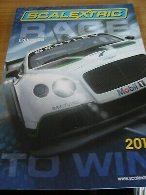 SCALEXTRIC  CATALOGUE 55th  EDITION 2014 EXCELLENT CONDITION  • 5£