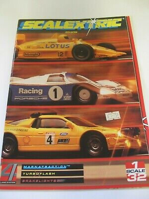SCALEXTRIC CATALOGUE  29th 198 Excellent  Condition  • 8£