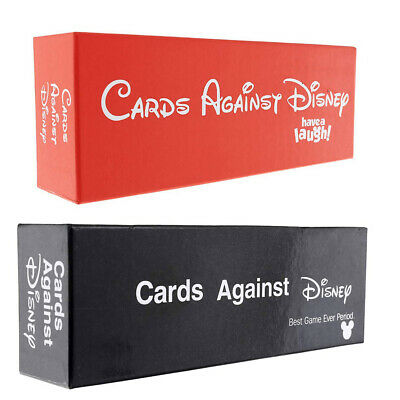 New SEALED Cards Against DISNEY 828 Cards ORIGINAL RED/Black PACK Edition • 33.10£