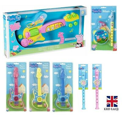 PEPPA PIG MUSICAL INSTRUMENTS Toddler Stocking Filler Toys Toy Christmas Gift UK • 11.82£