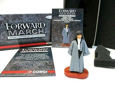 Genuine Corgi Forward March - Emmeline Pankhurst Figure - Not A Cheap Copy! • 19.99£