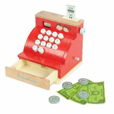 Le Toy Van Wooden Cash Register And Play Money • 32.85£