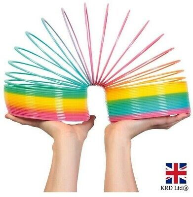 GIANT MAGIC RAINBOW SLINKY SPRINGY Indoor/Outdoor Childrens Classic Toy T22010UK • 13.60£