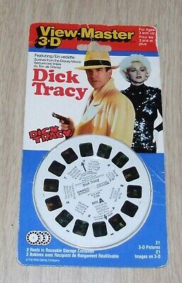 Dick Tracy - Viewmaster Discs (set Of 3) • 17.99£
