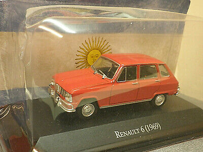 Renault 6  1969 In Red 1/43rd Scale  • 13.49£