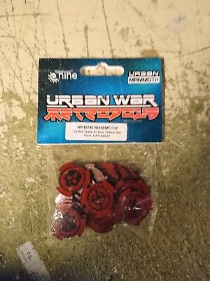 Clau Team Actions, Urban War, I-kore, Metropolis, Token Set.,mint  • 8£
