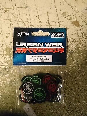 Urban War, I-kore, Metropolis, Token Set.,mint  • 8£