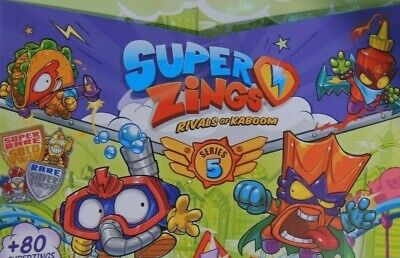 Superzings Series 5 - Pick / Choose Your Figure - New From Packaging  • 0.99£