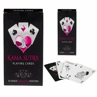 Kama Sutra Playing Cards Card Game Adult Fun Naughty Gift Sex Aid Novelty Couple • 5.99£