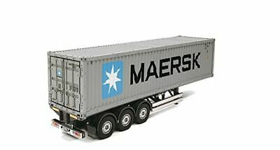 TAMIYA RC 56326 40ft Container Semi-Trailer For Tractor Truck Assembly Kit 1:14 • 399.99£
