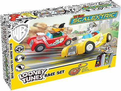 Looney Tunes My First Scalextric Race Track Set Powered Slot Racing Playset • 33.30£