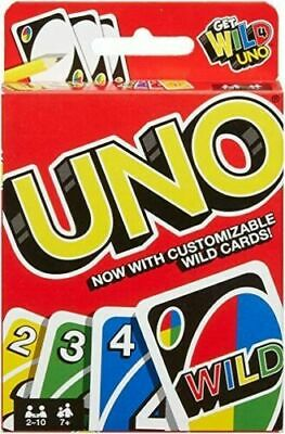 UNO Indoor Family Party Playing Card - 108 Playing Cards • 2.89£