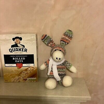 Dougal The Donkey Knitted Soft Toy Animal Stuffed New Hand Crafted Baby Cute Cu • 22£