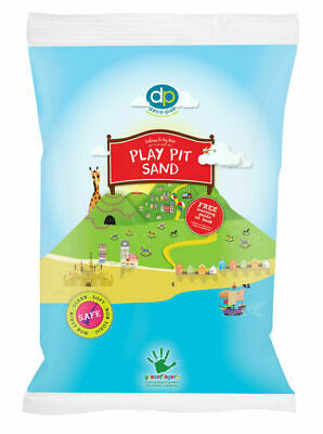 Children Toy Play Pit Sand Silica Non Clothes Staining 20kg Clean Safe • 11.95£
