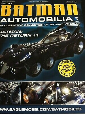 Eaglemoss. Batman The Return #1 Diecast Model Batmobile.  • 16.99£