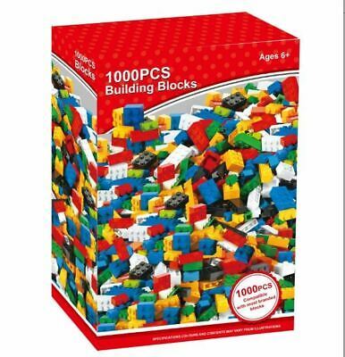 1000 Pieces Building Bricks Blocks Compatible With Lego Brick Build Replace Lost • 11.95£