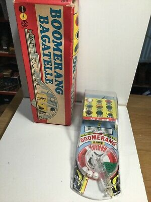 Marx Toys Boomerang Bagatelle Excellent Condition Within Its Original Box • 22£
