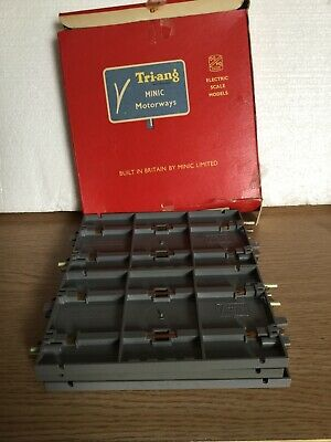 Tri- Ang Minic Motorways 6-M 1601 Straights Boxed • 34.95£
