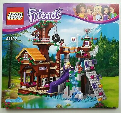 Lego Friends Instruction Manual 41122 Adventure Camp Tree House  BOOK ONLY New • 5.99£