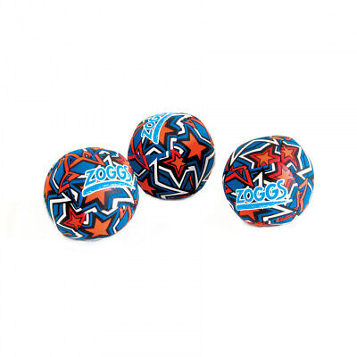 Zoggs Stars Bright Splash Balls Set Of 3 Lightweight Water Friendly Paddling  • 8.97£