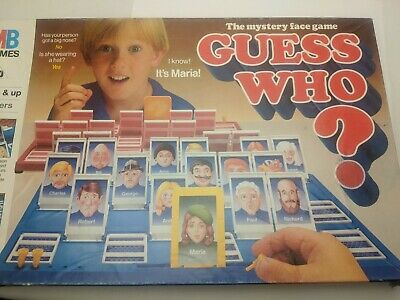Guess Who Replacement Cards • 1.99£