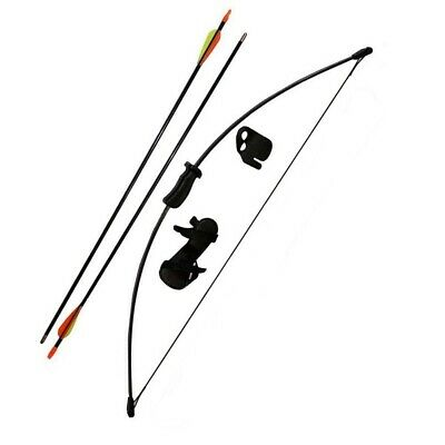Kids Archery Bow And Arrow Set With Target Faces Kit Rounded Or Sucker Tip • 9.95£