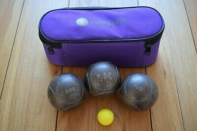 JB Petanque Competition Boule With Case And Coche • 88£