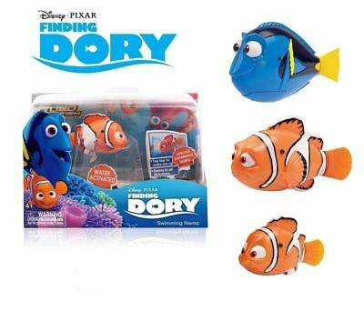 FINDING DORY Robo Fish Water Activated Robotic Pet Clown Nemo  Or Dory Brand New • 7.95£