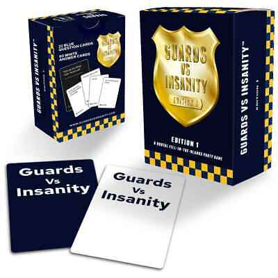 Guards Against Insanity Edition 1 Naughty Expansion For Cards Against Humanity • 9.95£