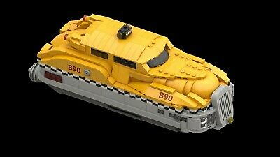 LEGO MOC | Fifth Element Taxi | (Instruction ONLY) • 5£