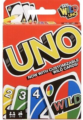 Uno Card Game With Wild Cards • 2.99£
