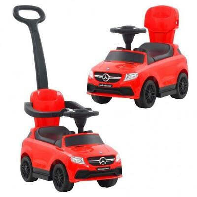 Baby Toddler Musical Ride On/ Push Along  Toy Car  - Red • 63.99£