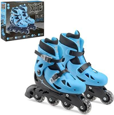 Xootz Medium Inlines Roller Skates Blue/black • 32.98£