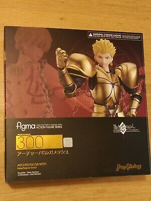 Official Fate/grand Order Gilgamesh Archer Figma Figure - New Sealed • 119.99£