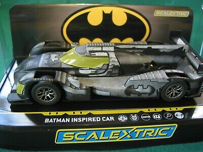 Scalextric Ltd Edition  C4140 Batman Inspired Car Bnib Dpr New Release  • 39.99£