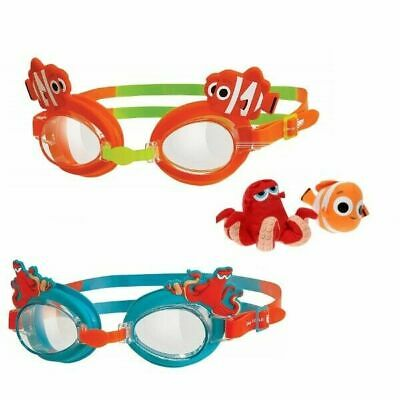 Zoggs Finding Dory Swimming Goggles Childrens Kids 0-6 Yrs Anti Fog UV Nemo Hank • 5.97£