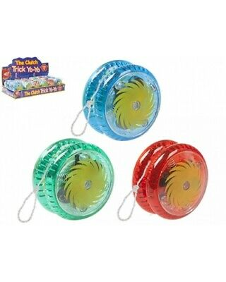 Yoyo Tricks Light Up Clutch 5cm LED Flashing Wheel Mechanism Kids Gift Toys • 9.95£