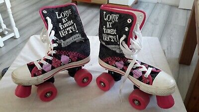 Monster High Roller Boots Child's Size 34 • 14.99£
