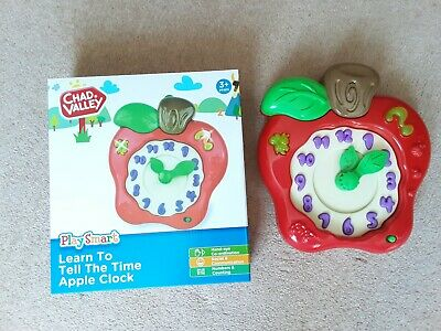 LEARN TO TELL THE TIME CLOCK / Educational Toy • 4£