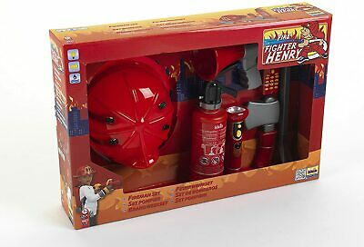 Theo Klein Firefighter Henry Play Set With Toy Mobile Phone Red 3 Years+ • 44.98£