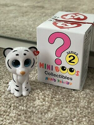 TY Mini Boos Series 2, New Figure, Opened Box, Tundra (White Tiger) Collectibles • 2.98£